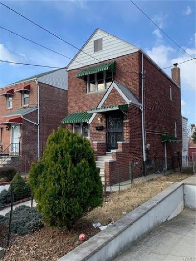 Bronx Single Family Home For Sale: 2525 Fenton Avenue