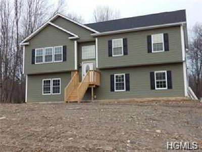 Sullivan County Single Family Home For Sale: Lot 7a Burlingham Road