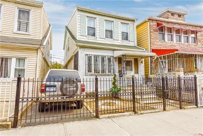 Bronx Single Family Home For Sale: 1140 Thieriot Avenue