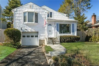 Westchester County Single Family Home For Sale: 8 Roosevelt Avenue