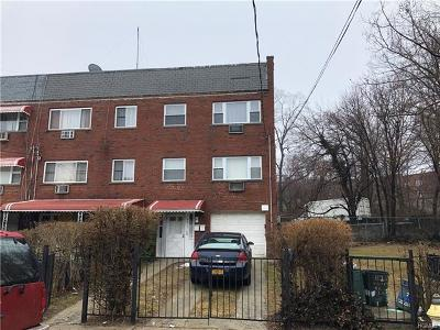 Bronx Multi Family 2-4 For Sale: 3217 Gunther Avenue