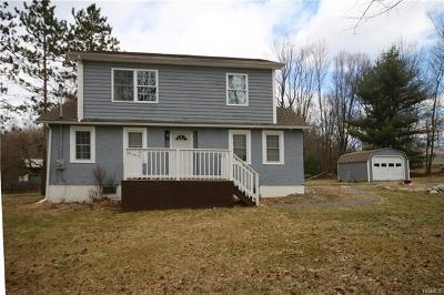 Pine Bush Single Family Home For Sale: 112 Red Barn Road