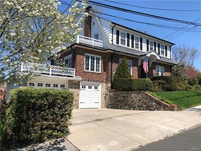 Yonkers Single Family Home For Sale: 1 Hughes Terrace
