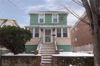 Bronx Single Family Home For Sale: 859 Revere Avenue