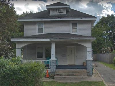 Single Family Home For Sale: 72 West Church Street