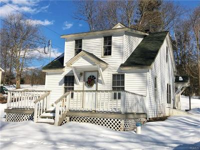 Monticello NY Single Family Home For Sale: $109,900