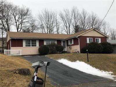 Rock Hill NY Single Family Home For Sale: $107,500