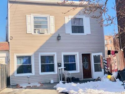 Bronx Single Family Home For Sale: 2442 Barnes Avenue
