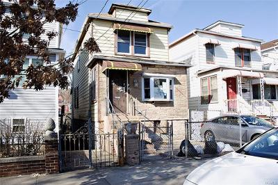 Bronx Single Family Home For Sale: 535 Beach Avenue