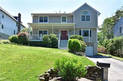 Westchester County Single Family Home For Sale: 4 Riverview Avenue