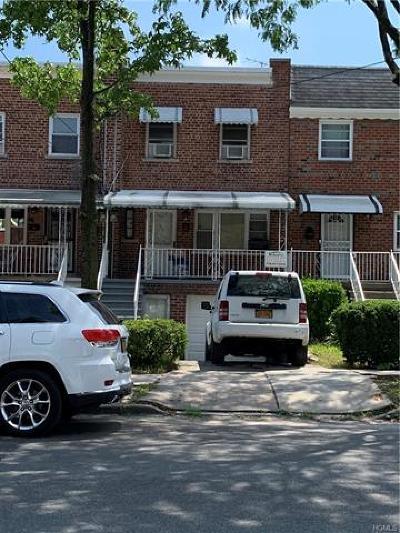 Bronx Single Family Home For Sale: 1914 Pitman Avenue
