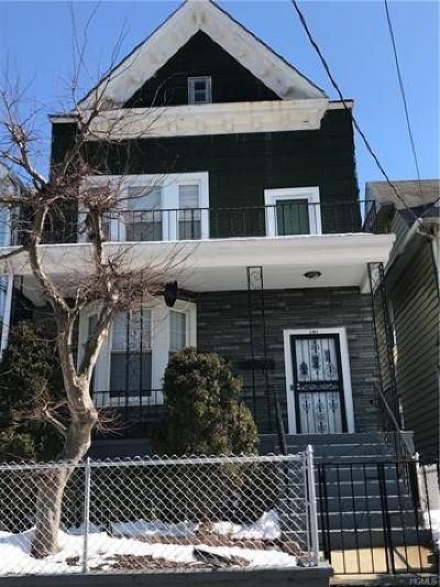 Mount Vernon Multi Family 2-4 For Sale: 141 North Terrace Avenue