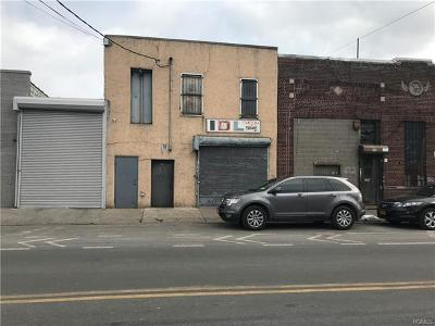 Bronx Commercial For Sale: 528 Tiffany Street
