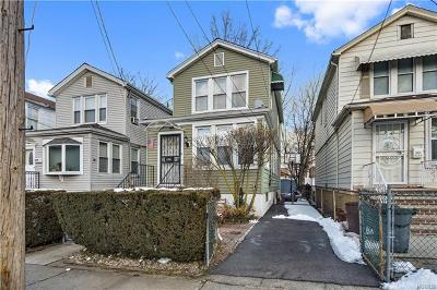 Bronx Single Family Home For Sale: 4208 Wilder Avenue