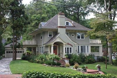 Scarsdale Single Family Home For Sale: 151 Edgemont Road