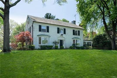 Dobbs Ferry Single Family Home For Sale: 26 Judson Avenue