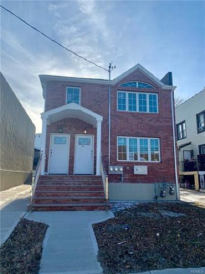 Bronx Multi Family 2-4 For Sale: 819 Hollywood Avenue