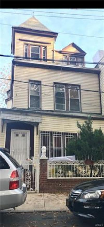 Bronx Multi Family 2-4 For Sale: 2332 Aqueduct Avenue