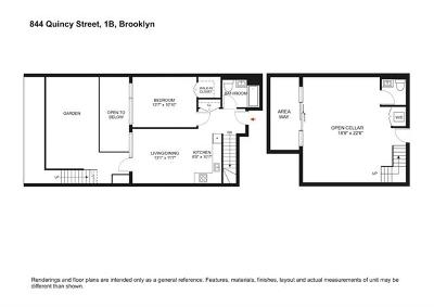 Brooklyn Condo/Townhouse For Sale: 844 Quincy Street #1B