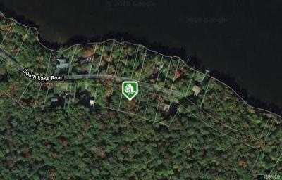 Residential Lots & Land For Sale: South Wanaksink Lake Road