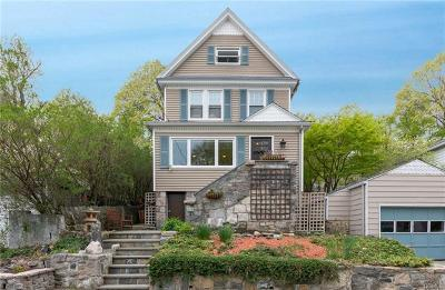 Hastings-On-Hudson Single Family Home For Sale: 149 James Street