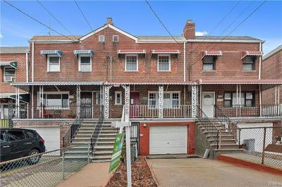 Bronx Single Family Home For Sale: 3327 Gunther Avenue