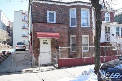 Bronx Multi Family 2-4 For Sale: 4338 Boyd Avenue