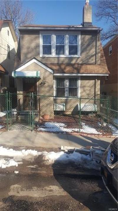 Bronx Single Family Home For Sale: 3936 Harper Avenue North East