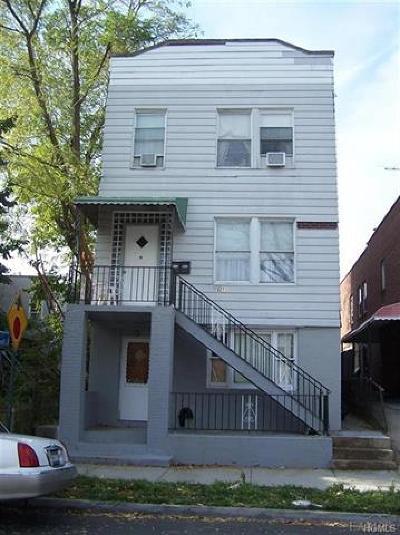 Bronx Multi Family 2-4 For Sale: 3211 Paulding Avenue