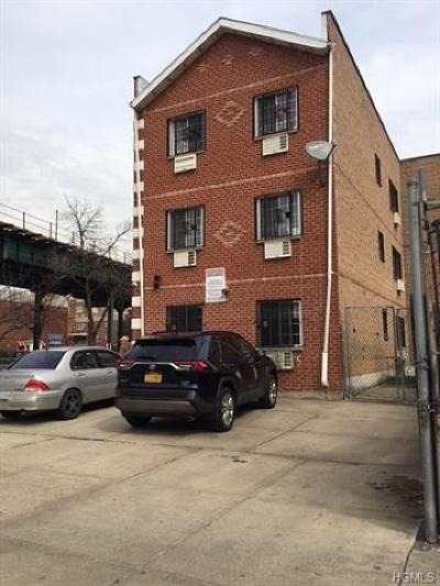 Bronx Multi Family 2-4 For Sale: 1740 Westchester Avenue