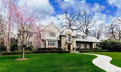 Scarsdale NY Single Family Home For Sale: $3,750,000