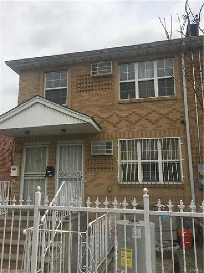 Bronx Multi Family 2-4 For Sale: 2828 Bruner Avenue