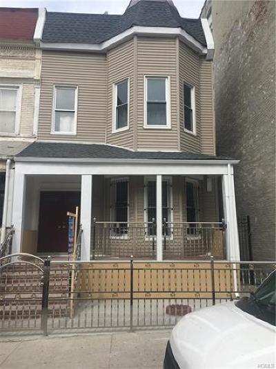 Bronx Multi Family 2-4 For Sale: 671 Dawson Street
