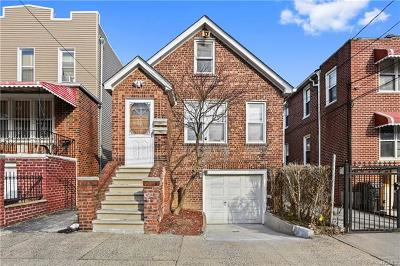 Bronx Single Family Home For Sale: 2730 Fish Avenue