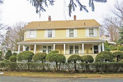 Westchester County Multi Family 2-4 For Sale: 5 Pine Street
