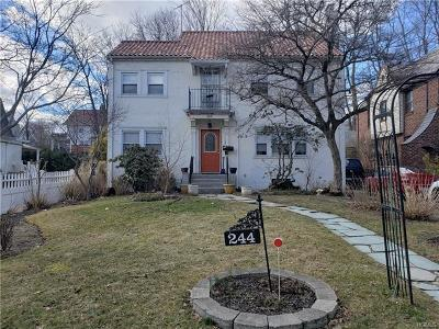 Westchester County Single Family Home For Sale: 244 North Regent Street