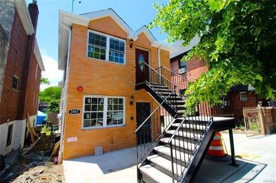 Bronx Multi Family 2-4 For Sale: 3951 Hill Avenue