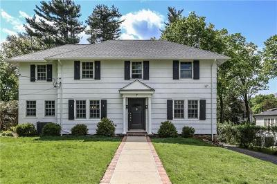 Scarsdale Single Family Home For Sale: 7 Putnam Road