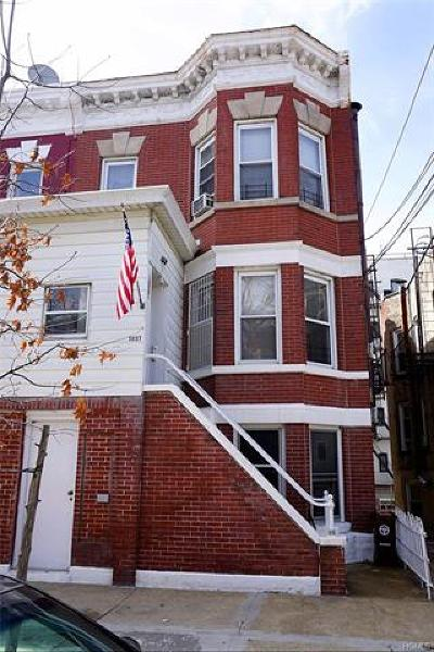 Bronx County Multi Family 2-4 For Sale: 1837 Hunt Avenue