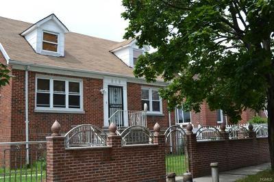 Bronx Single Family Home For Sale: 319 Calhoun Avenue