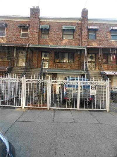 Bronx Multi Family 2-4 For Sale: 3926 Carpenter Avenue