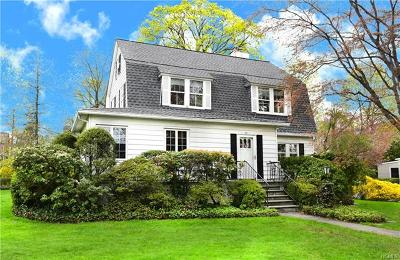 Larchmont Single Family Home For Sale: 44 Edgewood Avenue