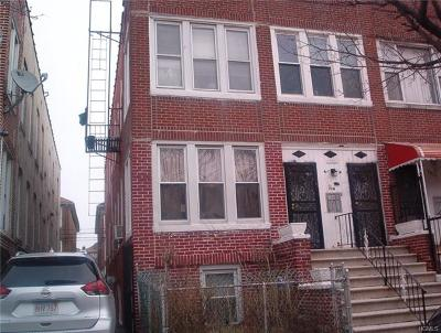 Bronx County Multi Family 2-4 For Sale: 1320 Noble Avenue