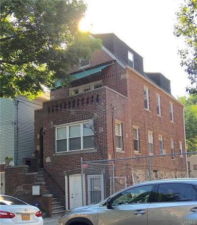 Bronx Multi Family 2-4 For Sale: 3631 Tibbett Avenue
