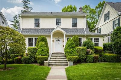 Bronxville Single Family Home For Sale: 11 Hobart Street