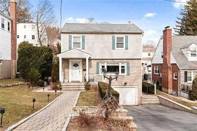Scarsdale Single Family Home For Sale: 127 Alkamont Avenue