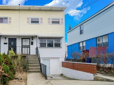 Bronx Single Family Home For Sale: 2256 Virgil Place