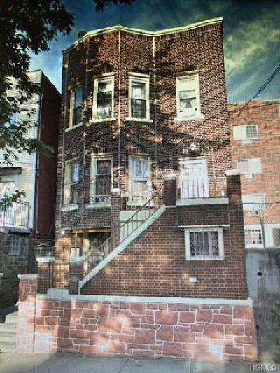 Bronx County Multi Family 2-4 For Sale: 1827 Amethyst Street