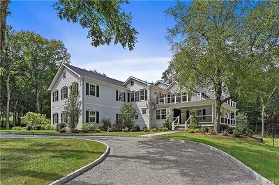 Pound Ridge Single Family Home For Sale: 33 Saddle Ridge Road