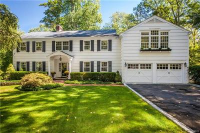 Chappaqua Single Family Home For Sale: 105 Valley View Road
